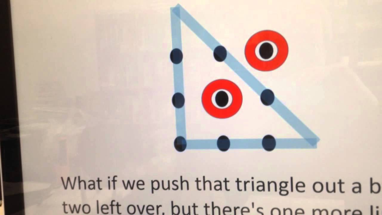 the nine dots puzzle youtube