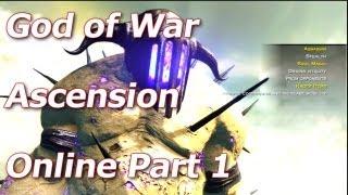 God of War: Ascension - Hades Olympus Training - Multiplayer Walkthrough Part 1 - HD