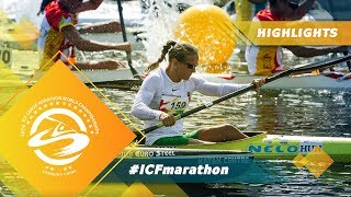 Highlights Day 2 / 2019 ICF Canoe Marathon World C...