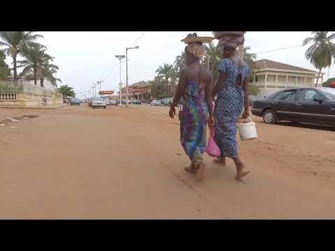 CIDADE DE BISSAU (Guiné Bissau)  Filmada de cima por um drone | video by António Félix
