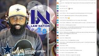 Law Nation & Akoye Media Talk Football   Reaction To The Cowboys Vs Washington