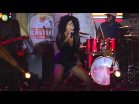 Ammara Brown takes to the dance floor @ The Castle Lager National Braai Day #263Chat