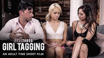 PURE TABOO   GIRL TAGGING   Short Film   Elsa Jean, Reena Skye, Ryan Driller   Adult Time