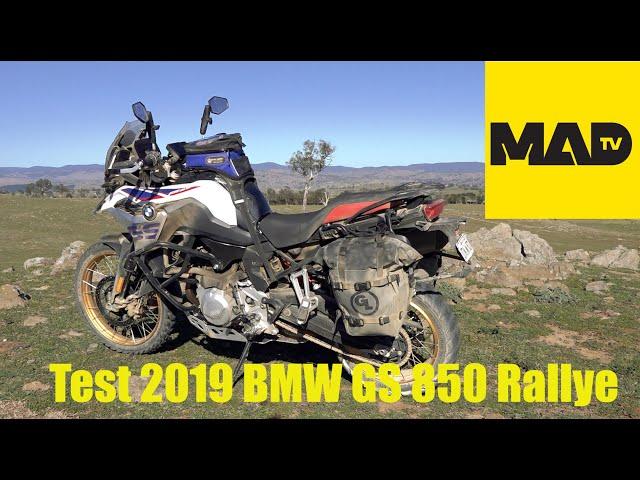 Test 2019 BMW GS 850 Rallye - AdventureMoto