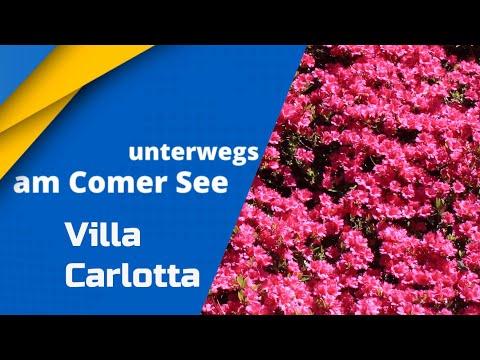 Villa Carlotta am Comer See (Lago di Como, Lake Como) Italien