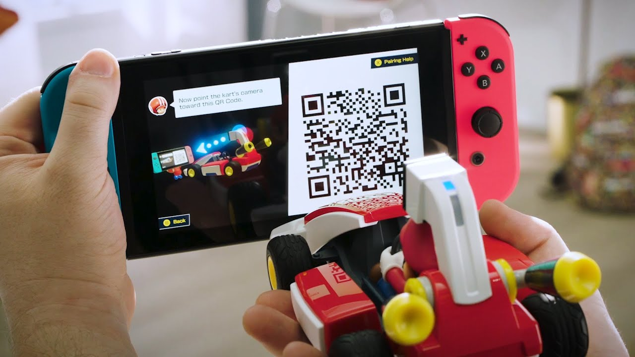 Turn your room into a remote-controlled AR Mario Kart track
