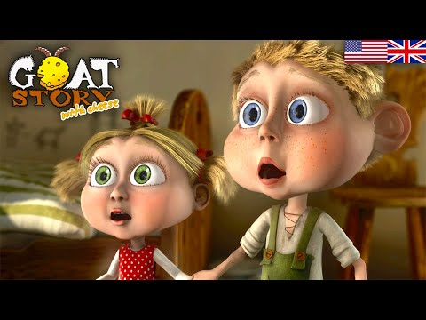 Goat Story 2 With Cheese | Full Animaton Movie | English Family Cartoon | Free Animated Movie