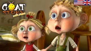 Goat story 2 with Cheese | Full Animaton Movie | English Children Cartoon