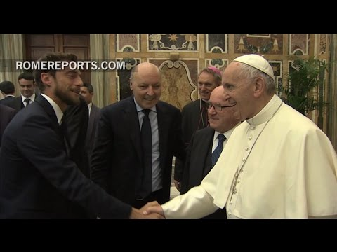 Pope Francis to Juventus and Lazio players: You champions are role models for the youth