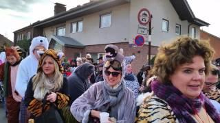 karnevalszug in d,dorf itter vom 6-2-16