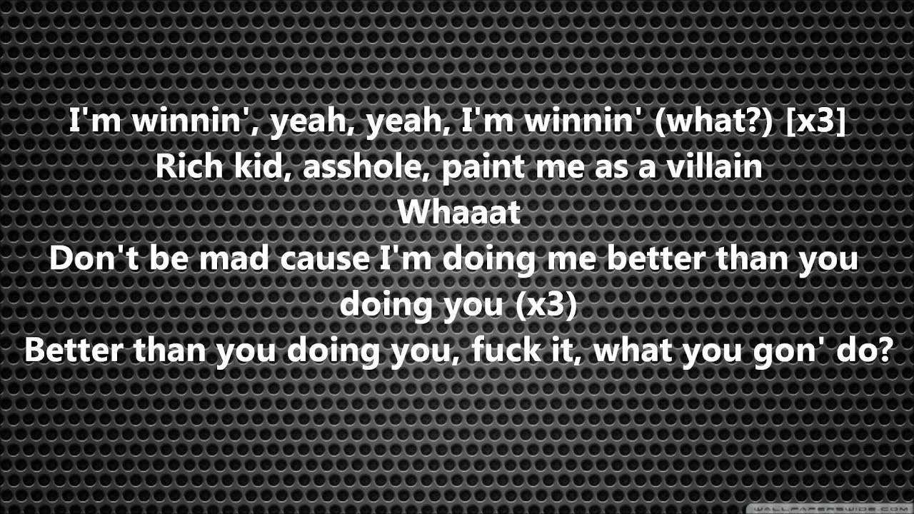 Childish Gambino - Sweatpants lyrics - YouTube