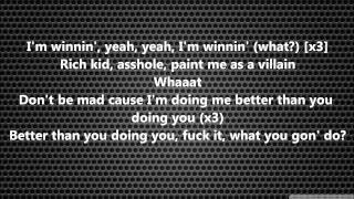 Repeat youtube video Childish Gambino - Sweatpants lyrics