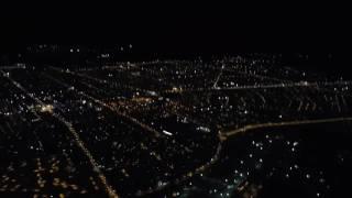 Gece Uçaktan Erzincan'a Bakış