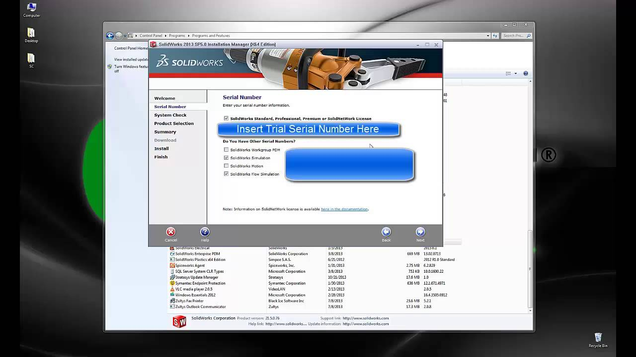 SOLIDWORKS – Installing Trial Versions of SOLIDWORKS