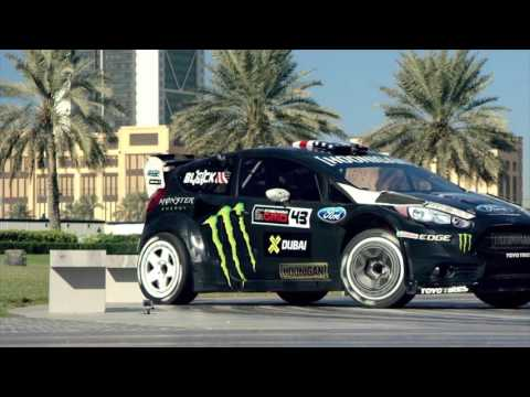 #KEN BLOCK'S_GYMKHANA-8 PLAYGROUND DUBAI (with music)