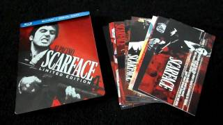Scarface Limited Edition Steelbook Blu-Ray Review and Unboxing