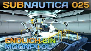SUBNAUTICA [025] [Endlich ein Moonpool] Let's Play Gameplay Deutsch German thumbnail