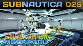 SUBNAUTICA [025] [Endlich ein Moonpool] Let's Play Gameplay Deutsch German thumbnail