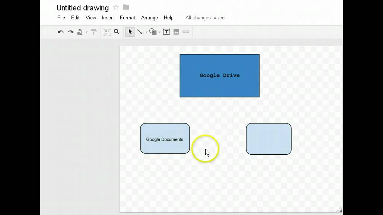 Creating Diagrams Or Concept Maps Using Google Docs Youtube