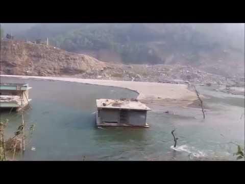 Nepal Is beautiful and Amazing...  Sunkoshi river in Sindhupalchwok..