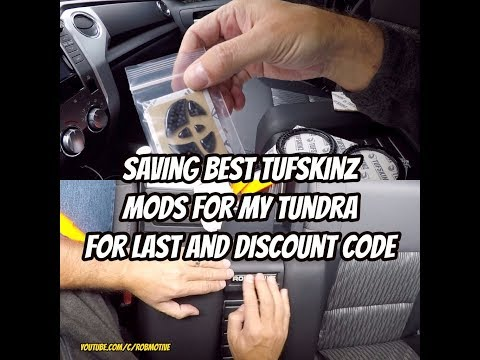 Saving Best Tufskinz Mods For My Tundra For Last And Discount Code!!