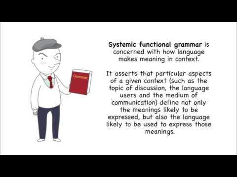 Teaching English Grammar - (Descriptive vs Prescriptive Grammar / Systemic Functional Grammar)