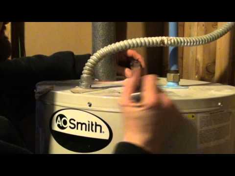 How To Get Rid Of Rotten Egg Smell In My Hot My Hot Wate. Diy  Anode Rod Replacement