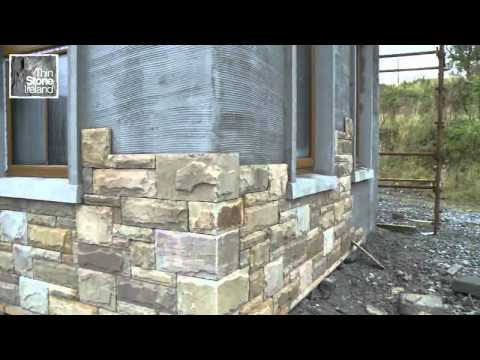 Thin Stone Ireland Natural Stone Cladding Youtube