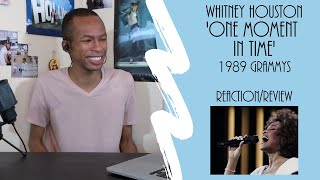 Whitney Houston - 'One Moment In Time' (1989 Grammys) | Reaction/Review
