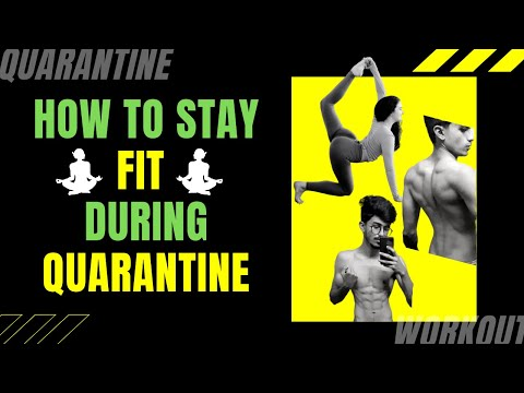 How I stay FIT and HEALTHY during QUARANTINE | Workouts | Yoga | Meditation | Ali Solanki