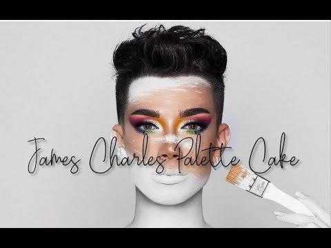James Charles Palette Cake thumbnail