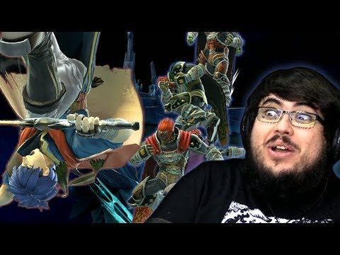 I Get DESTROYED By 7 Level 9 Ganondorf CPU's in Super Smash Bros. Ultimate thumbnail