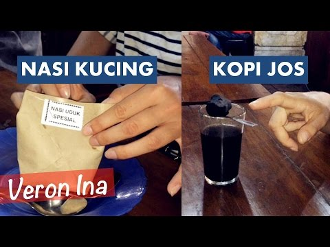 Foreigners Try Indonesian Street Food | Kopi Jos& Cat Rice