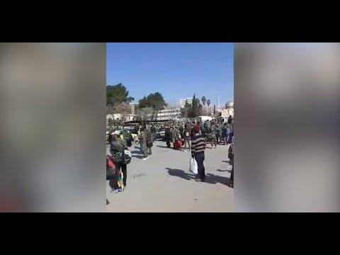 حظر وسائل النقل بدمشق يرفع خطر تفشي كوررنا  - نشر قبل 3 ساعة