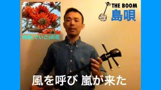Shima-Uta (with Japanese lyrics,subtitles) ;THE BOOM / Cover by Iso...