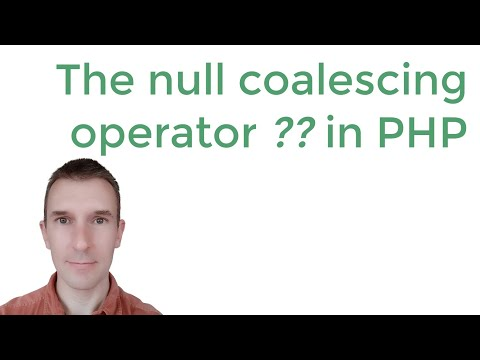 The PHP null coalescing operator: getting values of variables that might not be set