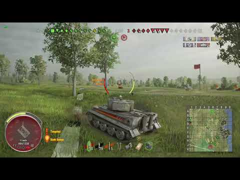 World Of Tanks Xbox One Tiger I Hammer 6 Kills