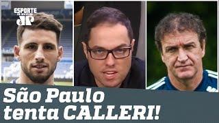 Bastidores: em silêncio, São Paulo tenta trazer CALLERI!