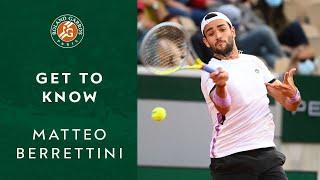 Get to know matteo berrettini i roland-garros 2021