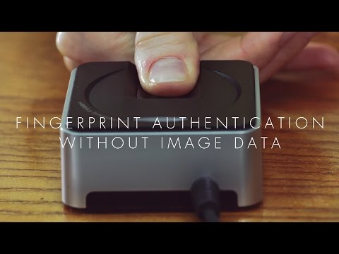 Innovation Japan【FINGERPRINT AUTHENTICATION WITHOUT IMAGE DATA】