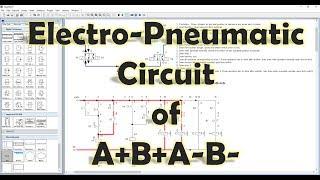 [FluidSIM] Mechatronik - Electro-Pneumatic Circuit of A+B+A-B-[ Erklärt]