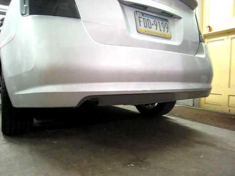 2007 Spec V  - Muffler Delete Exhaust Clip