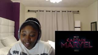 "Reacting to ""Marvel Studios' Captain Marvel | ""Ready"" TV Spot"""
