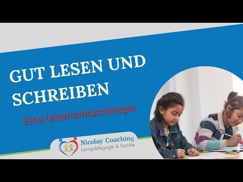Unterrichtskonzept, gut lesen schreiben lernen - (H. D. Nicolay Coaching / Nicolai Nicolay)