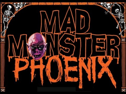 MAD MONSTER PARTY Cleopatra Poetry Performance - Phoenix 2015