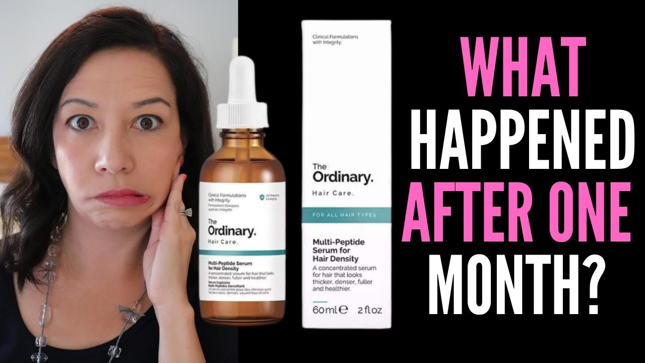 Hair Loss Sufferer Reviews The Ordinary Multi Peptide Serum For Hair Density Best Hair Growth Serum Youtube