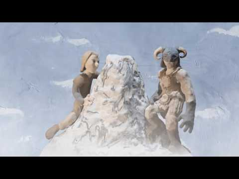 Vidéo Skyrim Special Edition – Vidéo en pâte à modeler animée de #SkyrimMemories