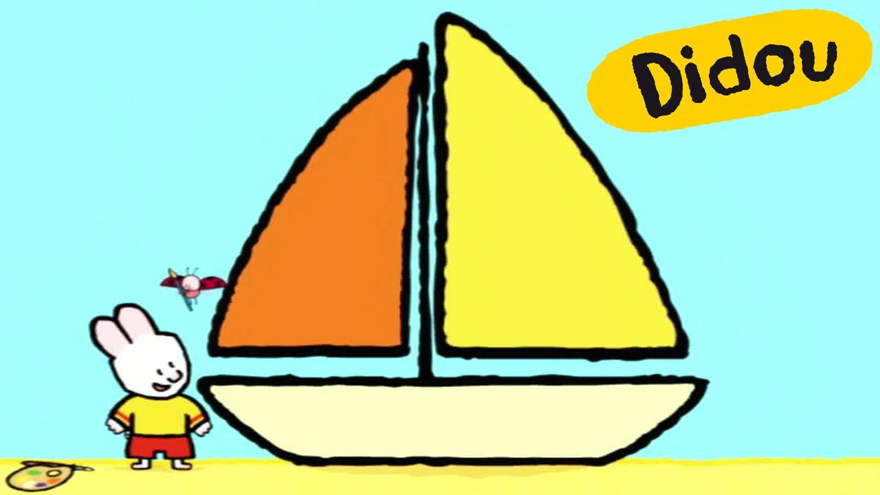 Bateau didou dessine moi un bateau dessins anim s pour les enfants youtube - Bateau a dessiner ...