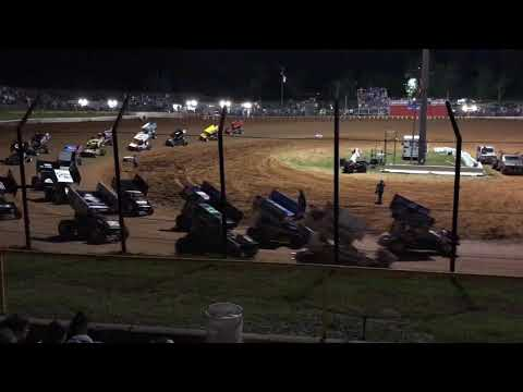 World of Outlaws Sprints - Gator Motorplex, Willis, TX 4/13/2017