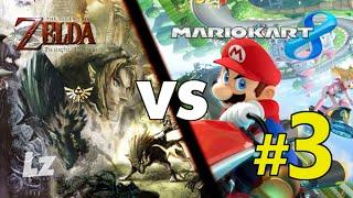 Mario Kart 8 Zelda Edition - Thwomp Ruins vs Hyrule Field